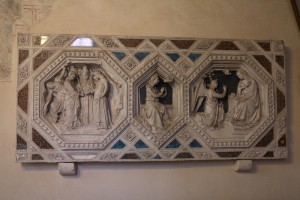 Possible Italian plaster plaque