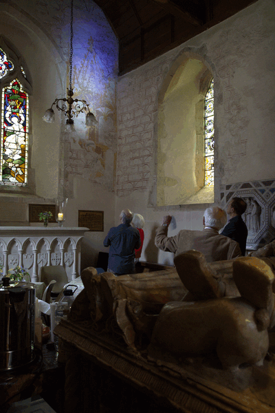 medieval wall design events archives project st marys aldermaston