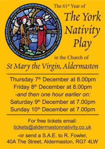 2017 Aldermaston York Nativity Play