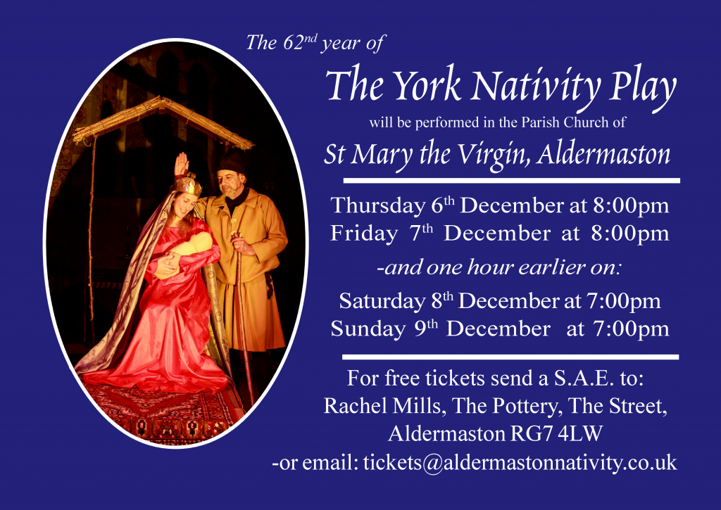 2018 York Nativity Play Poster